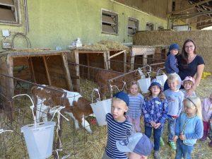 Kita auf dem Bauernhof